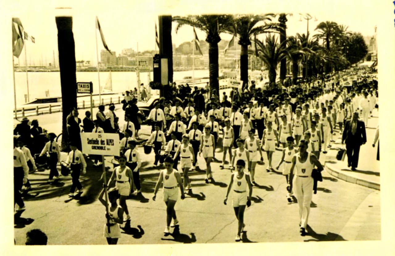fédéraux 1957 Cannes