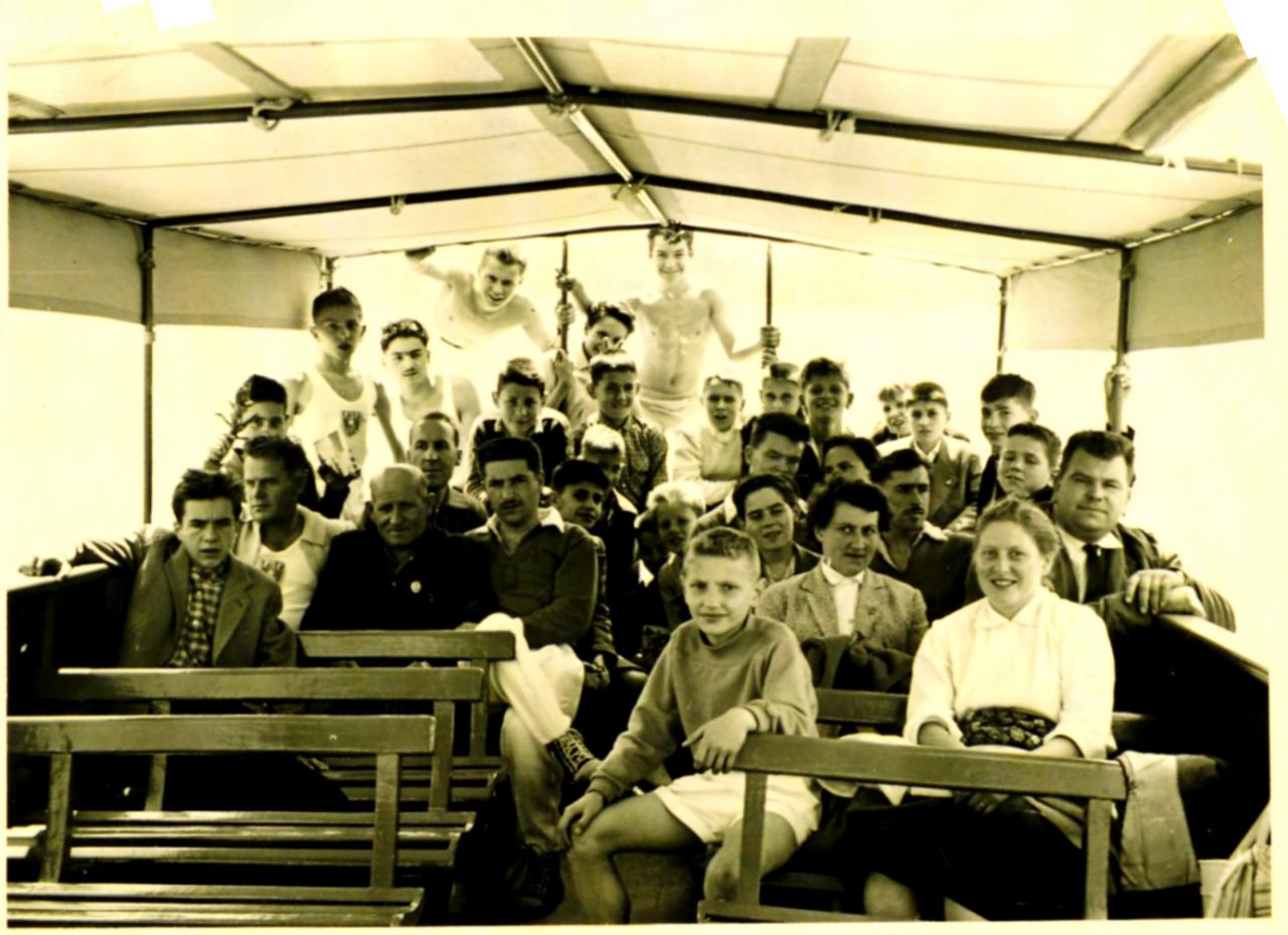 Fédéraux 1957 à Cannes
