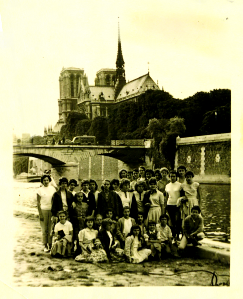 Fédéraux Filles 1958 à Paris