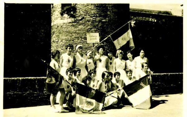 fédéraux filles1961 à Angers