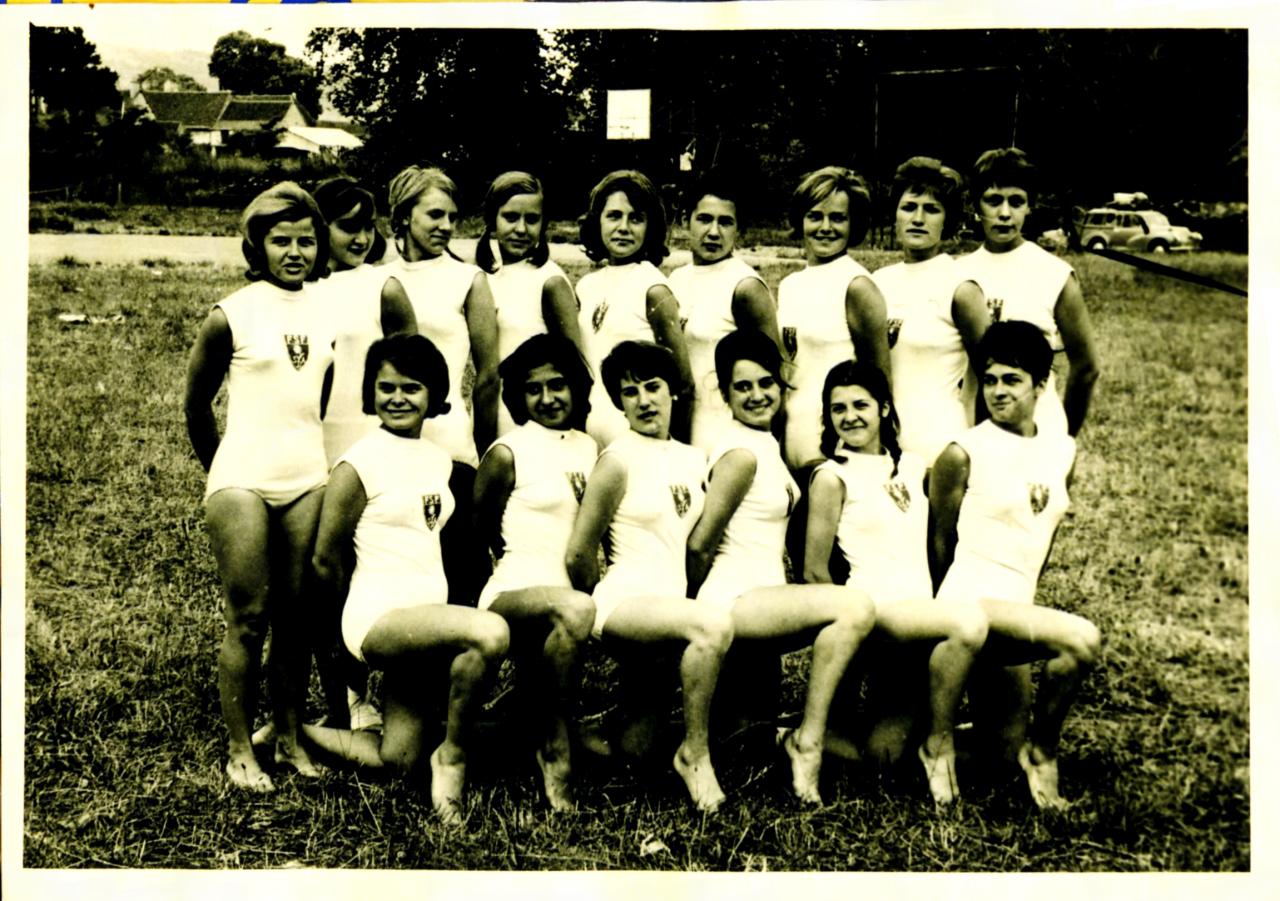 fédéraux filles1963 à Royan