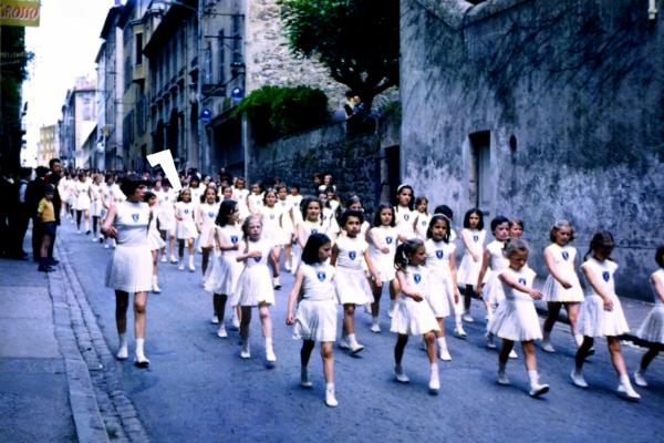 Fédéraux filles 1964 à  Poissy