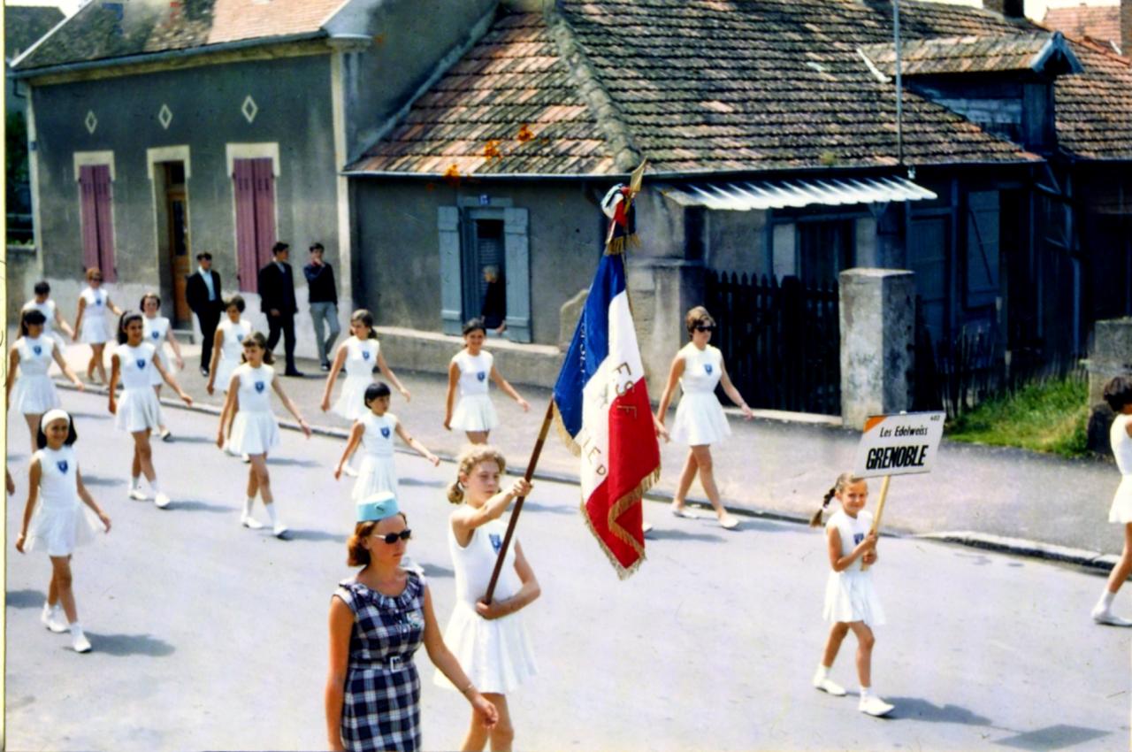 fédéraux 1965 Autun