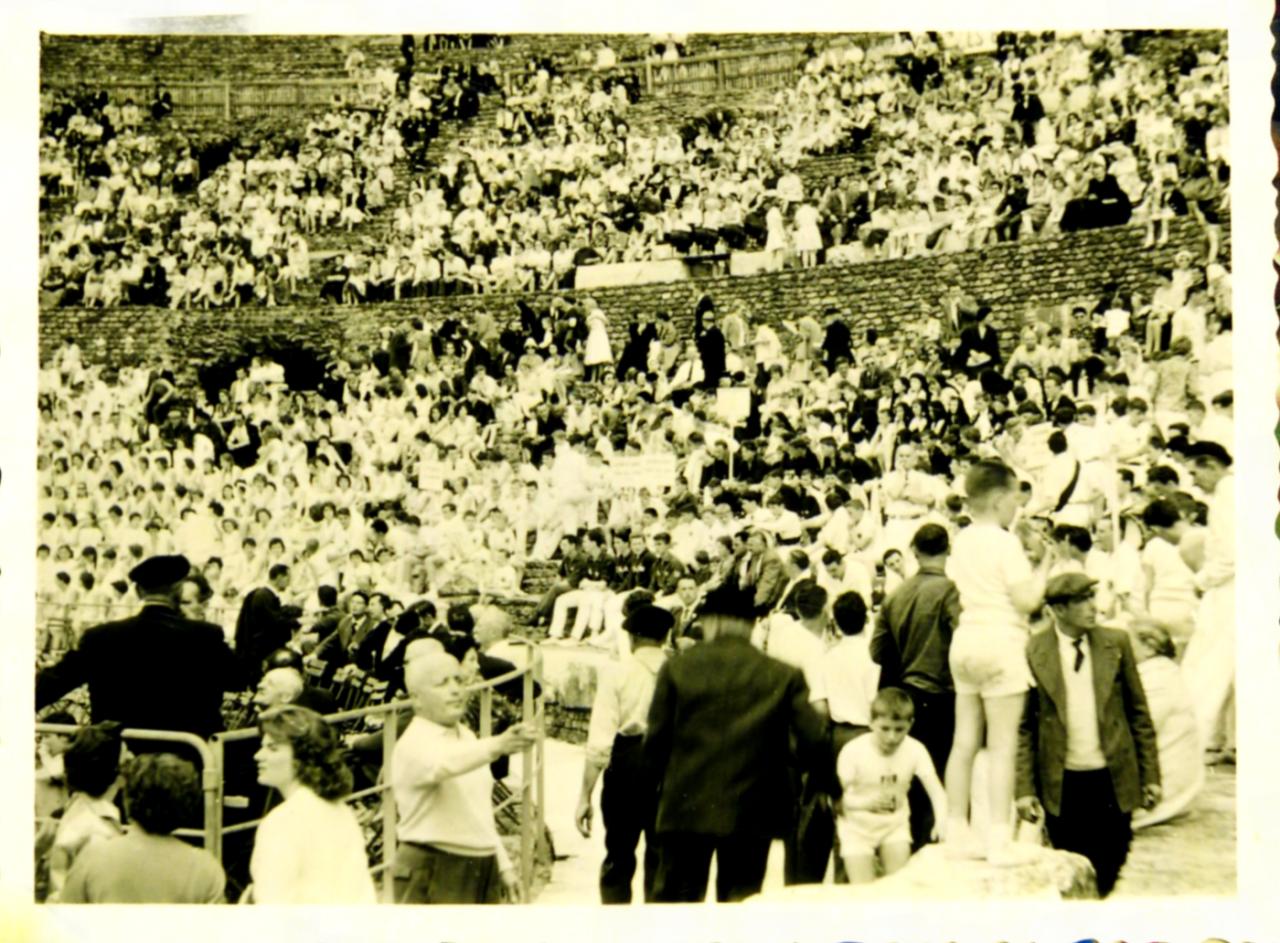 fédéraux filles 1965 à Autun