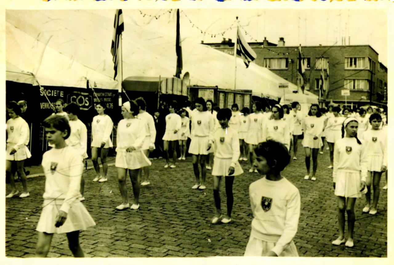 Fédéraux filles 1966 à Dunkerque