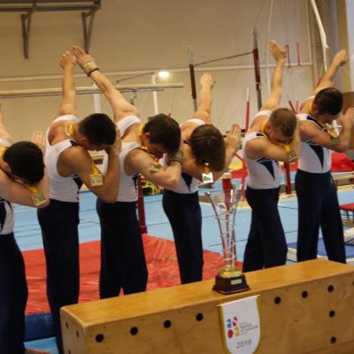 Championnat national garçon à Nantes