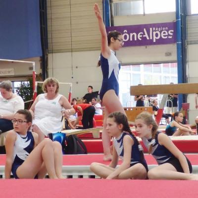 Championnat Régional Aînées, Jeunesses, Poussines à Chambéry